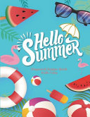 Hello Summer Password Keeper Book With Tabs
