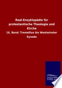 Real Enzyklop  die F  r Protestantische Theologie und Kirche