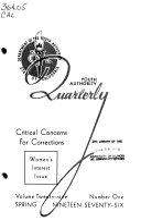 California Youth Authority Quarterly