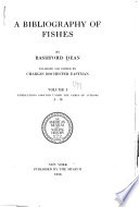 A Bibliography of Fishes