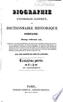 Biographie universelle classique