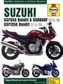 Suzuki GSF650 1250 Bandit   GSX650F Service and Repair Manual