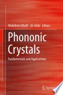 Phononic Crystals : overview of phononic crystals. this...