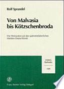 Von Malvasia bis K  tzschenbroda