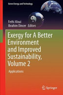 Exergy for A Better Environment and Improved Sustainability 2