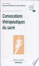 Convocations thérapeutiques du sacré