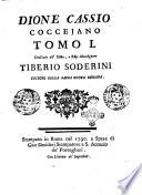 Dione Cassio Cocceiano tomo 1    4