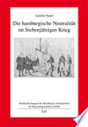 Die hamburgische Neutralität im Siebenjährigen Krieg