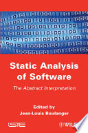 Static Analysis of Software