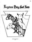 Keystone Dairy Goat News