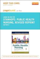 Public Health Nursing Pageburst on Kno Retail Access Code