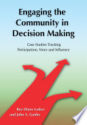 Engaging the Community in Decision Making