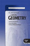 Holt McDougal Larson Geometry Common Core