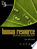 Human Resource Management  Third Edition