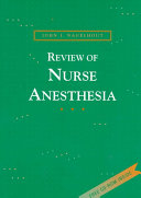 Review of Nurse Anesthesia