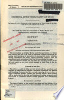 Commercial Motor Vehicle Safety Act of 1986