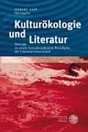 Kultur  kologie und Literatur