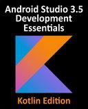 Android Studio 3 3 Development Essentials