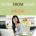Work From Home Job Tips And List