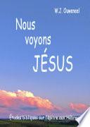 illustration Nous voyons Jésus