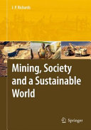 download ebook mining, society, and a sustainable world pdf epub