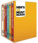 Hbrs 10 Must Reads Boxed Set  6 Books   hbrs 10 Must Reads