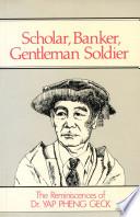 Scholar  Banker  Gentleman Soldier
