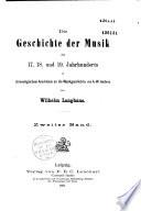 Die geschichte der Musik