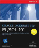 Oracle Database 10g PL SQL 101