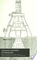 Annuario scientifico ed industriale
