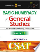 Basic Numeracy  For General Studies Paper II  CSAT