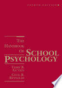 The Handbook of School Psychology  4th Edition