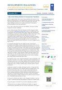 Development Challenges, South-South Solutions: December 2012 Issue