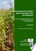 Integrated Approaches to Higher Maize Productivity in the New Millennium