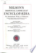 Nelson s Perpetual Loose leaf Encyclop  dia