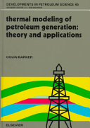 Thermal modeling of petroleum generation