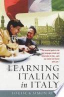 Learning Italian in Italy