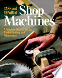 Care and Repair of Shop Machines