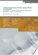 ICT Systemabgrenzung  Anforderungsspezifikation und Evaluation