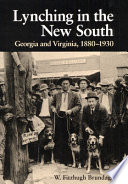 Lynching In The New South book