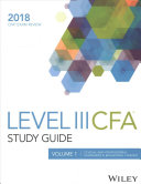 Wiley Study Guide for 2018 Level III CFA Exam  Complete Set