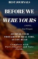 Before We Were Yours Pdf [Pdf/ePub] eBook