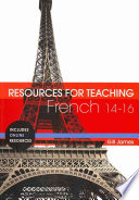 Resources for Teaching French  14 16