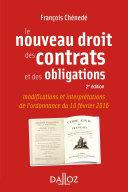 Le nouveau droit des contrats et des obligations