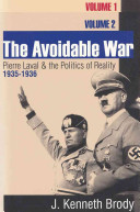 The Avoidable War