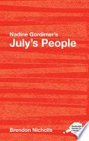 Nadine Gordimer S July S People