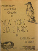 Preliminary Annotated Checklist of New York State Birds