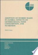 Adoption of Hybrid Maize in Zambia