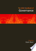 The SAGE Handbook Of Governance : way of describing and explaining changes in our...