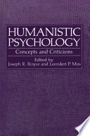 Humanistic Psychology In My Work With Individuals In